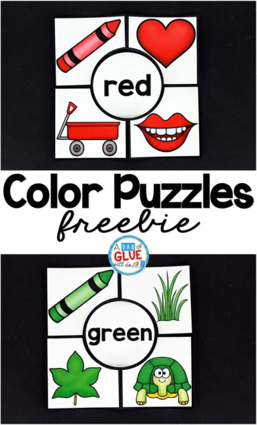 Color Word Printable