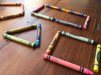 crayon shapes