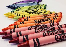 crayons sorted