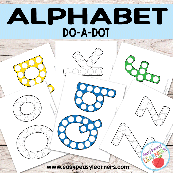 Letter Recognition With Do-A-Dot Letters